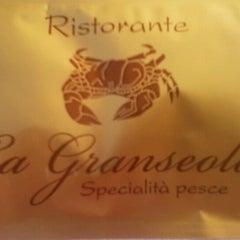 Photo taken at La Granseola by Valerio S. on 6/27/2012