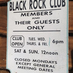 Photo taken at Black Rock Fish and Game Club by Ann-Mary on 3/17/2012