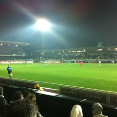 Photo taken at Orogel Stadium Dino Manuzzi by Michele B. on 3/7/2012