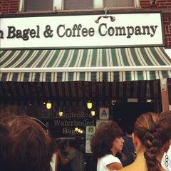 Photo taken at Brooklyn Bagel & Coffee Company by Sun on 9/8/2012