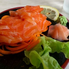 Photo taken at T&J Fresh Sushi by Fiona M. on 3/7/2012