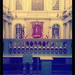 Photo taken at Touro Synagogue by Etan Z. on 8/22/2011