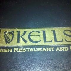 Photo taken at Kells Irish Restaurant & Pub by Ocean G. on 8/3/2012