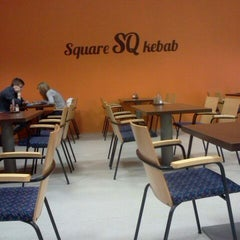 Photo taken at Square SQ kebab by Rasmus K. on 11/1/2011