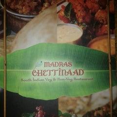 Photo taken at Madras Chettinaad by Vishi G. on 4/21/2012