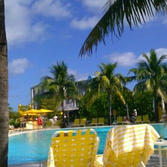 Photo taken at Pool at The Standard Spa, Miami Beach by Stefanija M. on 12/5/2011