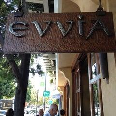 Photo taken at Evvia Estiatorio by Rong L. on 8/13/2012