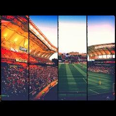 Photo taken at Rio Tinto Stadium by Brad H. on 7/8/2012