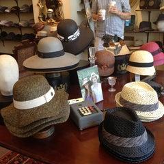 Photo taken at Goorin Bros. Hat Shop - Larimer Square by Megan B. on 6/9/2012