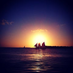 Photo taken at Mallory Square by Damien F. on 4/18/2012