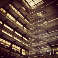 Photo taken at NYU Bobst Library by Jillian L. on 3/12/2012