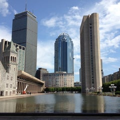 Photo taken at Christian Science Reflecting Pool by Eric A. on 8/16/2012