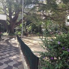 Photo taken at Praça Vilaboim by Matan T. on 2/21/2012