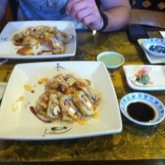 Photo taken at Fuji Sushi by Megan P. on 5/12/2012