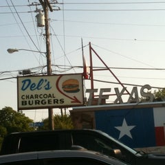 Photo taken at Del's Charcoal Burgers by RYAN D. on 6/28/2011
