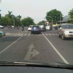 Photo taken at Perempatan Yakaya by Denny K. on 12/3/2011