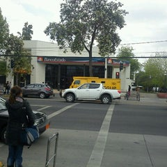 Photo taken at BancoEstado by Marco M. on 10/14/2011