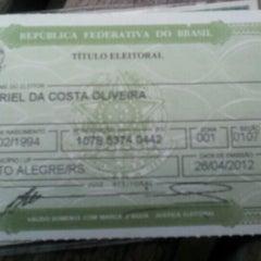 Photo taken at Tribunal Regional Eleitoral do Rio Grande do Sul (TRE/RS) by Gabriel O. on 4/26/2012