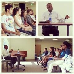 Photo taken at Carl Hansen Student Center by Quinnipiac U. on 9/12/2012