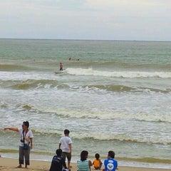 Photo taken at Pantai Batu Buruk by Dudiey on 12/2/2011