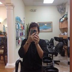 Photo taken at North Beach Salon by Zipporah S. on 8/7/2012