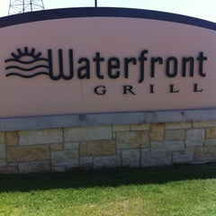 Photo taken at Waterfront Grill by Scott T. on 8/2/2012