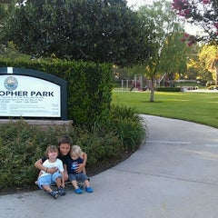 Photo taken at Christopher Park by Chris F. on 9/3/2011
