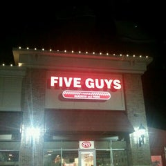 Photo taken at Five Guys by Melissa S. on 11/18/2011
