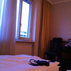 Photo taken at SORAT Hotel Ambassador Berlin by Marco M. on 9/6/2012