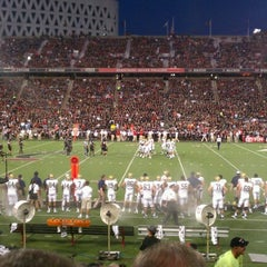 Photo taken at Nippert Stadium by Matt B. on 9/7/2012