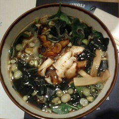 Photo taken at Wagamama by Michael F. F. on 4/17/2012