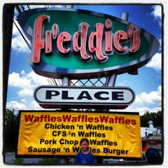 Photo taken at Freddie's Place by Greg M. on 5/20/2012