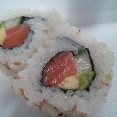 Photo taken at Happi Sushi by Riley B. on 9/16/2011