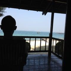 Photo taken at Pulau Ayer by Rangga P. on 6/30/2012