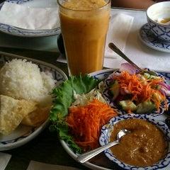 Photo taken at President Thai Restaurant by Alice on 7/18/2012