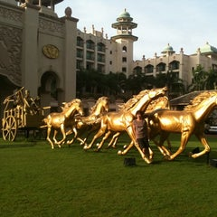 Photo taken at Palace of the Golden Horses by Chong k. on 11/28/2011