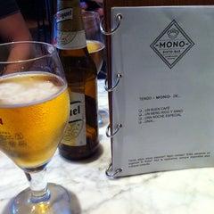 Photo taken at Mono Risto-Bar by Sara R. on 5/19/2012