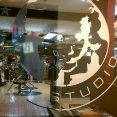 Photo taken at Milios Hair Studio by Richard S. on 1/26/2012