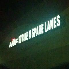 Photo taken at AMF Strike 'N Spare Lanes by pcsamri on 10/2/2011