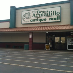 Photo taken at Brass Armadillo Antique Mall by Karilyn K. on 8/16/2012