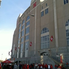 Photo taken at Memorial Stadium by Wade T. on 10/29/2011