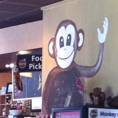 Photo taken at Monkey Nest Coffee by Olivia Carolyn S. on 2/19/2012