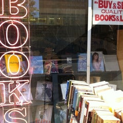 Photo taken at Mercer Street Books by Anna S. on 10/7/2011