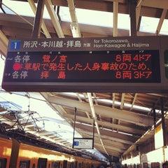 Photo taken at 西武新宿駅 (Seibu-Shinjuku Sta.) (SS01) by Takehal K. on 5/12/2012
