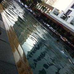 Photo taken at Pool Terrace Café & Bar by Satoshi K. on 12/31/2011