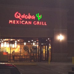 Photo taken at Qdoba Mexican Grill by Mariah B. on 8/22/2011