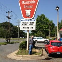 Photo taken at Barnside Diner by Jp B. on 5/17/2012