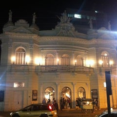 Photo taken at Theatro Carlos Gomes by Genarino F. on 7/28/2012