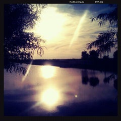Photo taken at St. Cloud Lake Front by Jamee G. on 9/2/2011