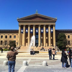 Photo taken at Philadelphia Museum of Art by Mario B. on 4/7/2012